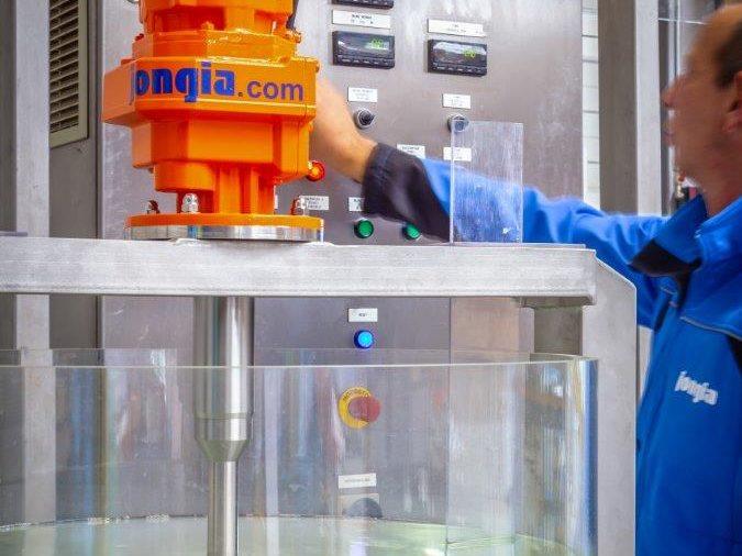 Jongia's Technology Center in Leeuwarden für Tests