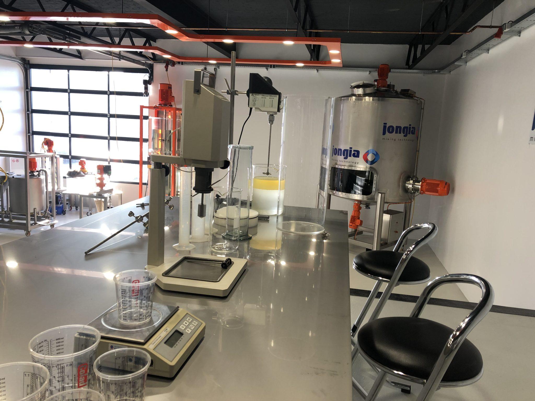 Jongia's hochmodernes Technologie Center